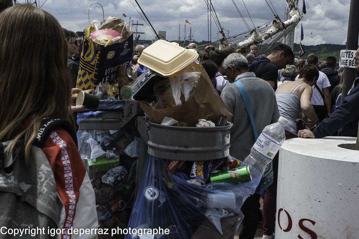 La poubelle de l'Armada