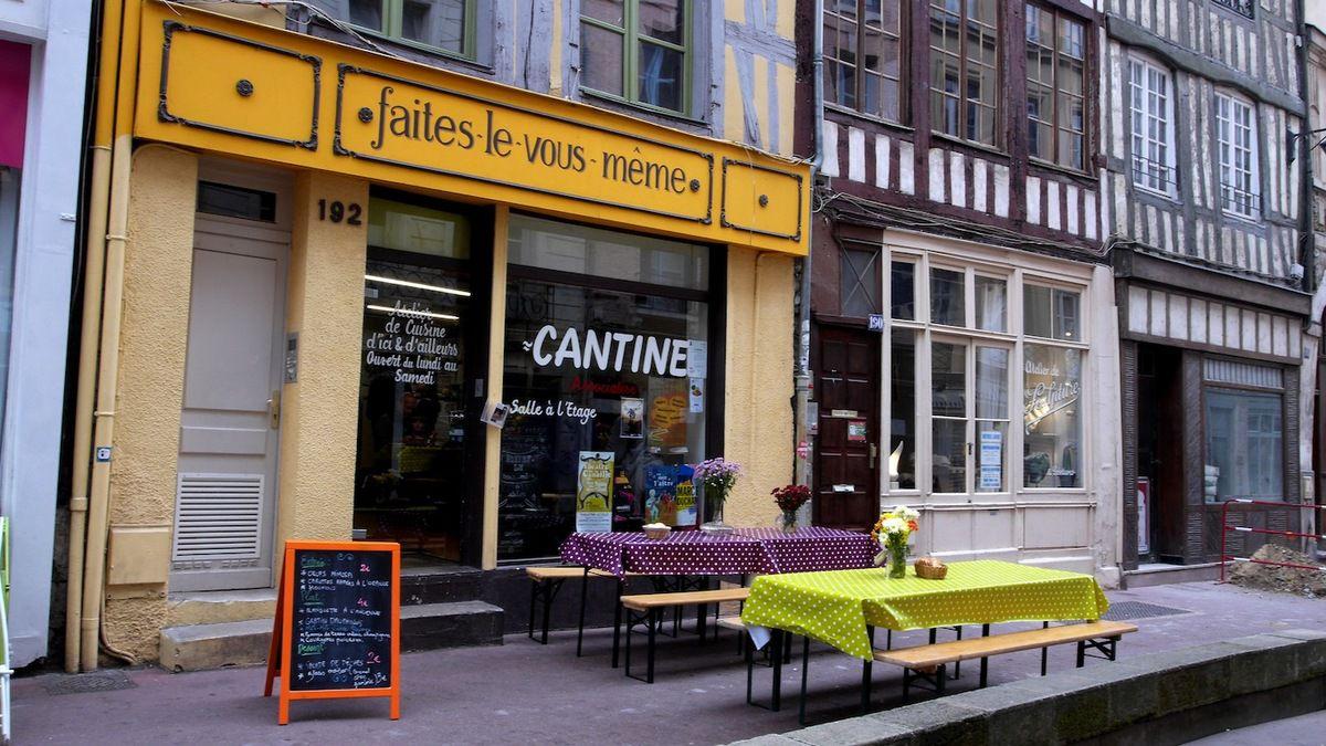 Manger équilibré  sans moyens: une cantine solidaire à Rouen