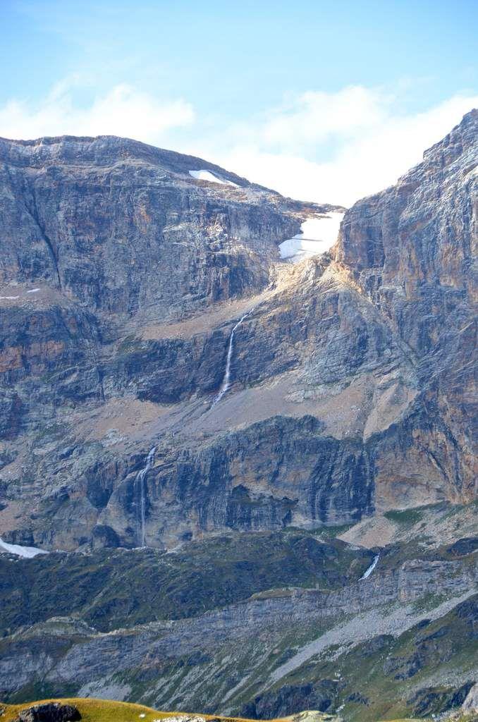 Cascade depuis La roche Ferran 3099m