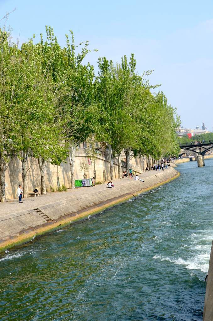 Balade sur la Seine
