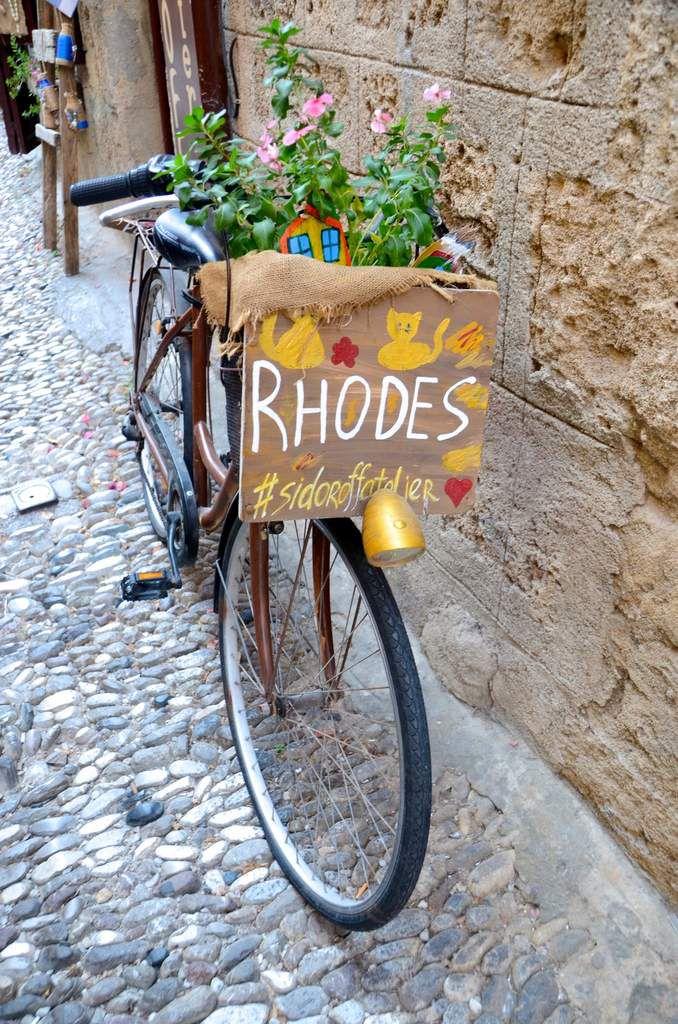 Grèce  cité de Rhodes