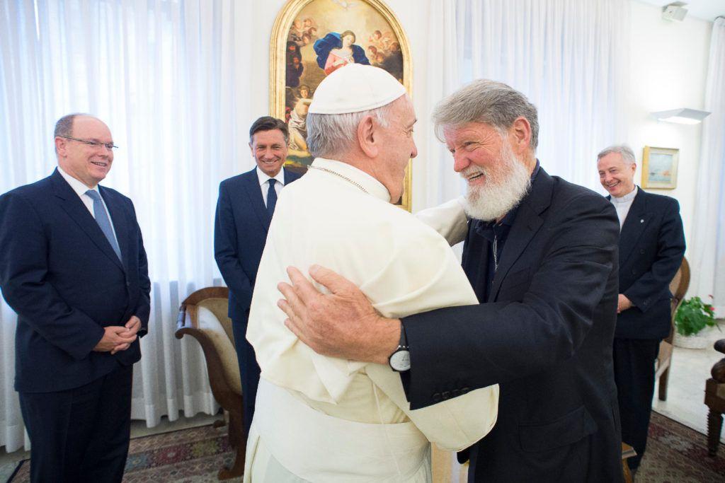 Une 2ème rencontre avec le pape François, ce mercredi 30 mai : le père Pedro se fait aussi ambassadeur