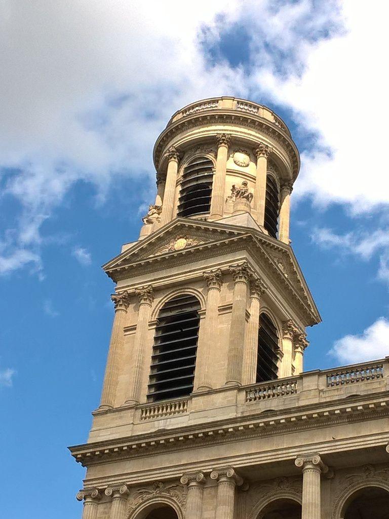 Tour Saint Jacques. Église Saint Sulpice. Paris. Photos Rhonan de Bar.
