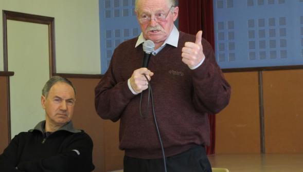 Serge VASSEUR Présiden de l'ALDEVA SA
