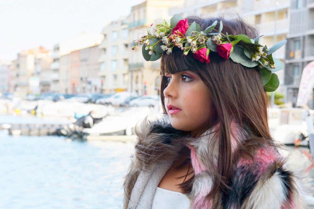 Mariée sur le Vieux Port de Sète face au Canal Royal