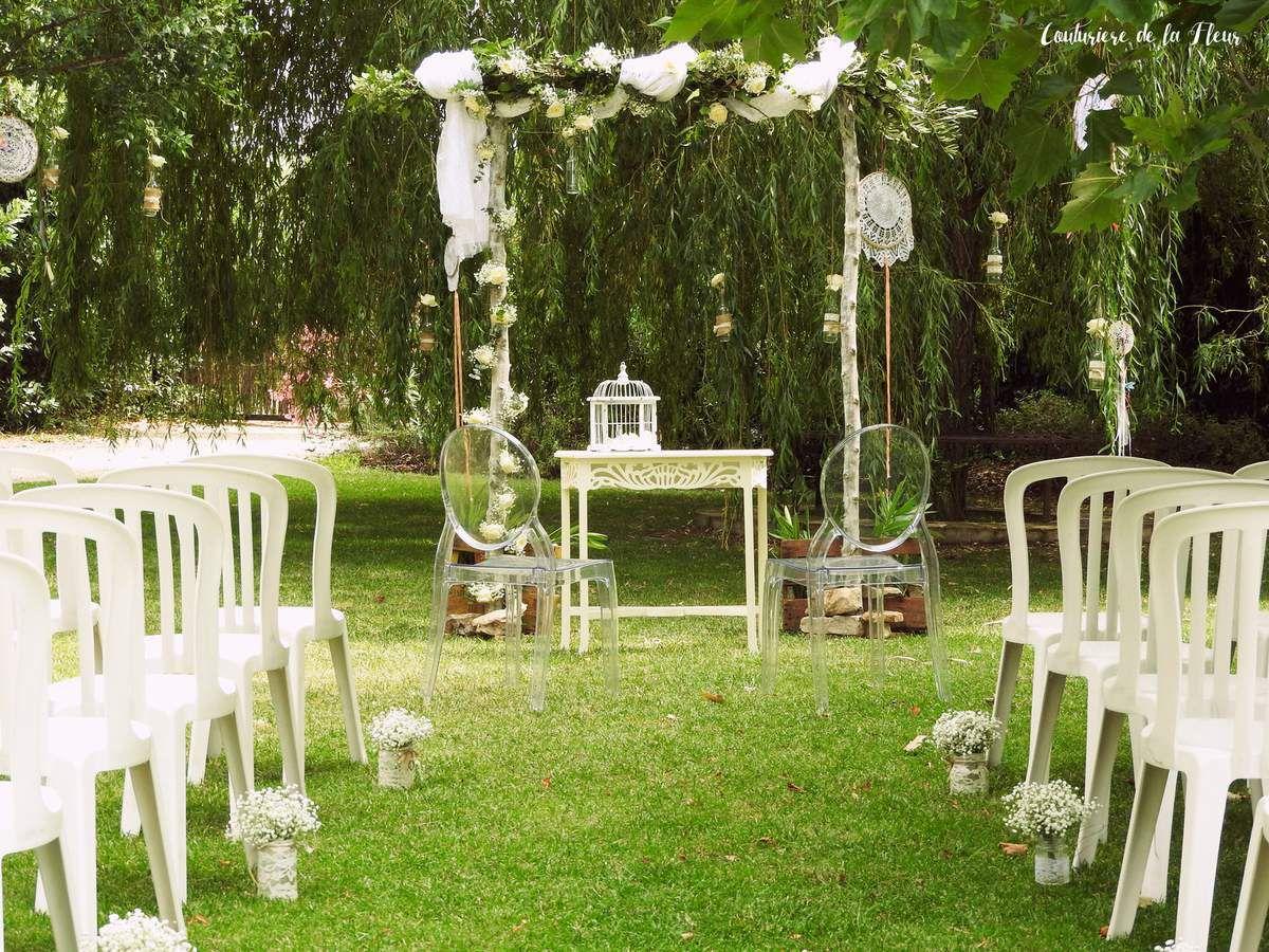 Mariage bohème au Mas de Peyre
