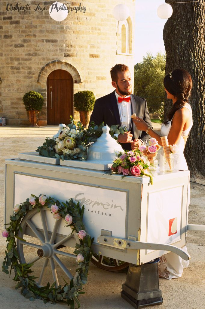 Mariage au Château Puech-Haut : inspiration French Riviera trendy [2]