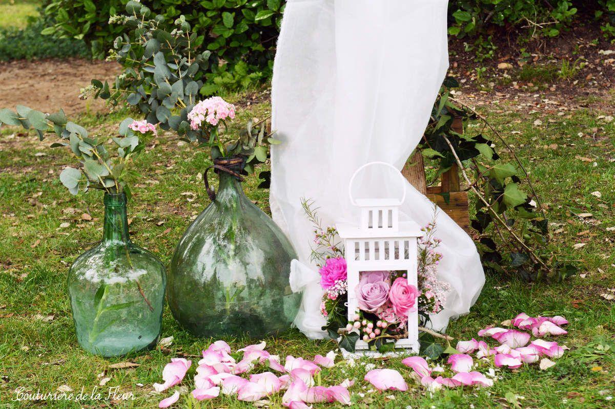 Jolie cérémonie laïque au Domaine de Verchant