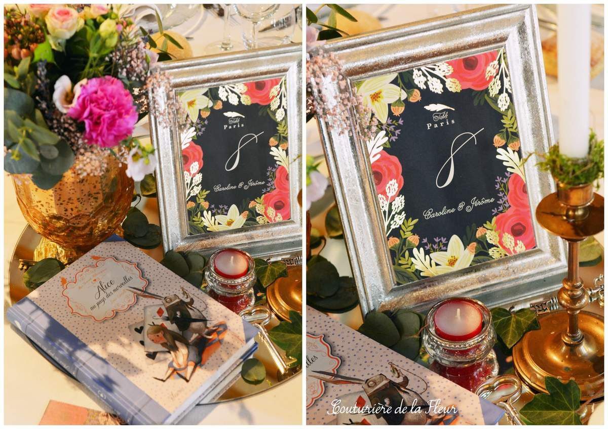 Mariage Alice au Pays des Merveilles au Domaine de Verchant | Wedding design Montpellier
