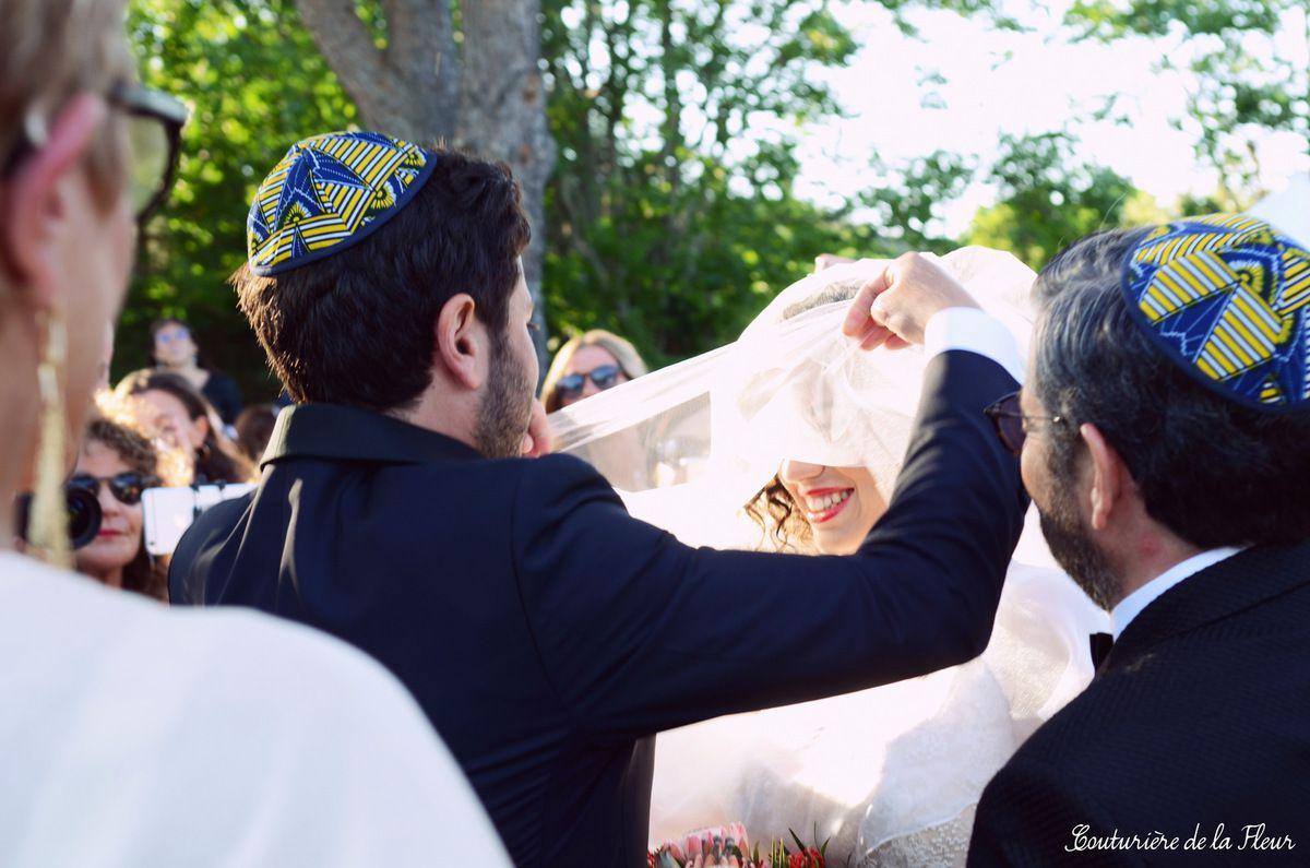 Cérémonie juive sous la houppa, au coeur de la Provence