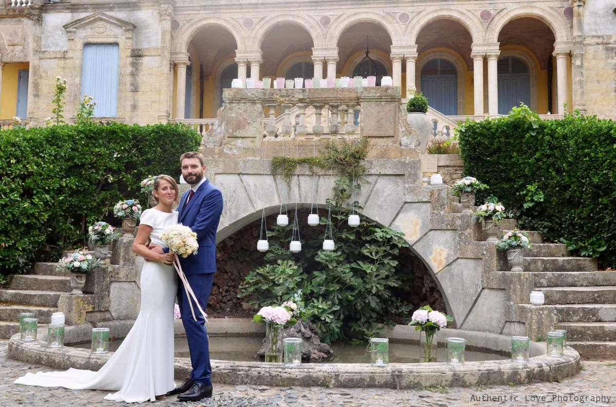 Mariage chic au Château Sainte Cécile, Saint Thibéry
