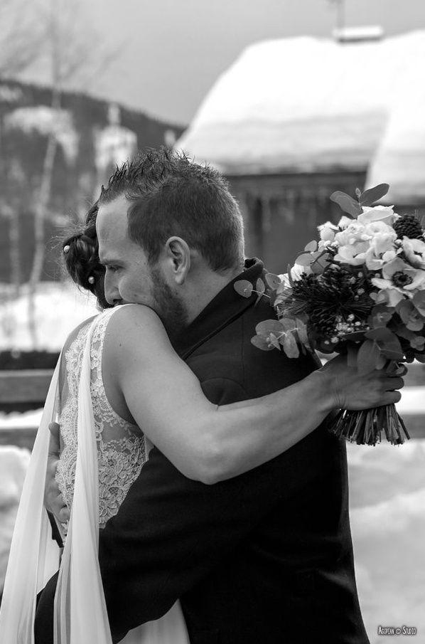 Mariage en hiver à La Clusaz