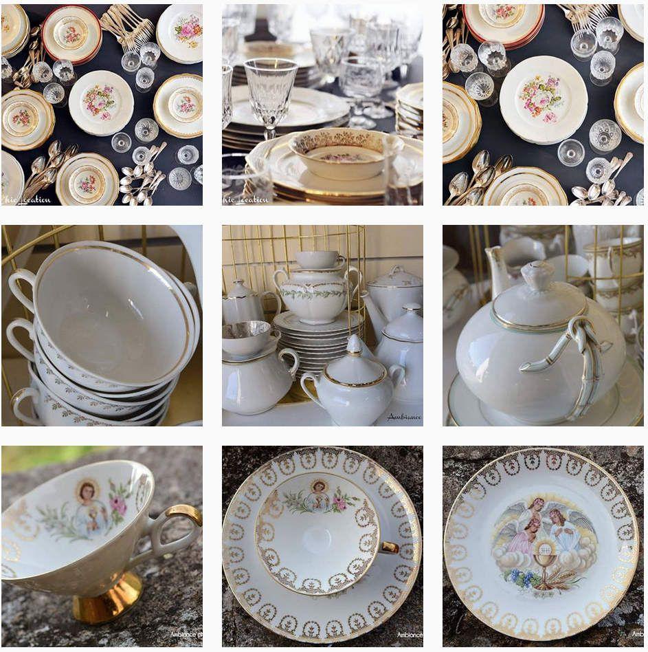 OKZ Concept store mariage : location de vaisselle vintage