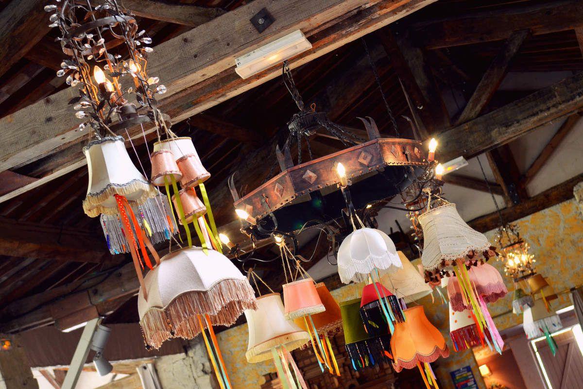 OKZ Concept store mariage : location d'abats-jour vintage