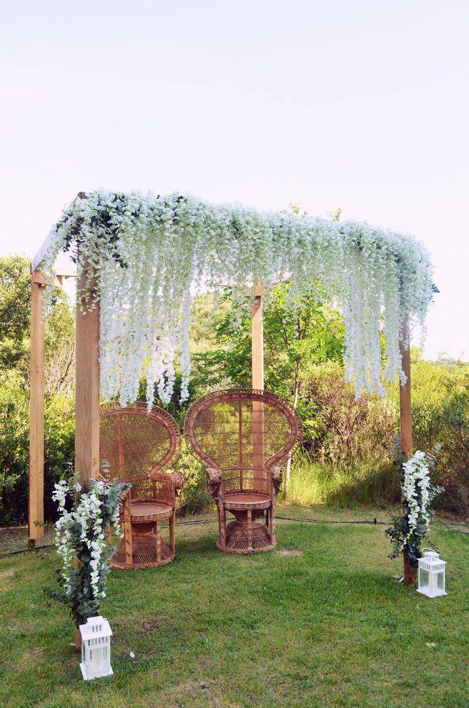 Domaine Sainte Colombe : un mariage juif bohème et chic