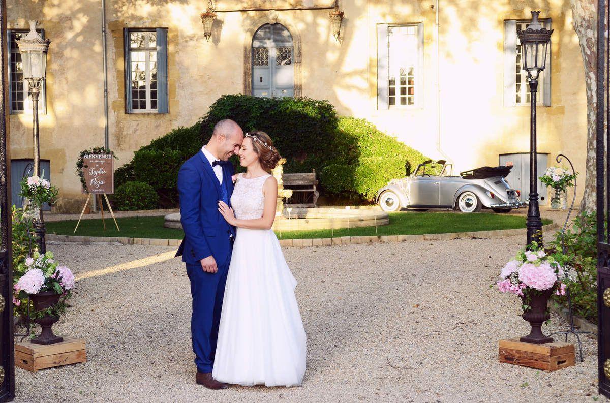 Château Sainte Cécile : un mariage chic et romantique