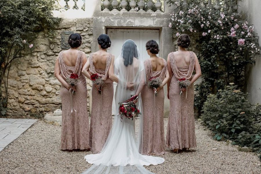 Château Ste Cécile : Mariage Gatsby / Gold, Old Pink & Burgundy