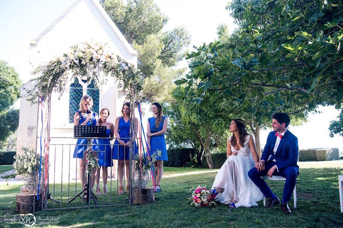 Domaine des Moures : mariage plein de peps