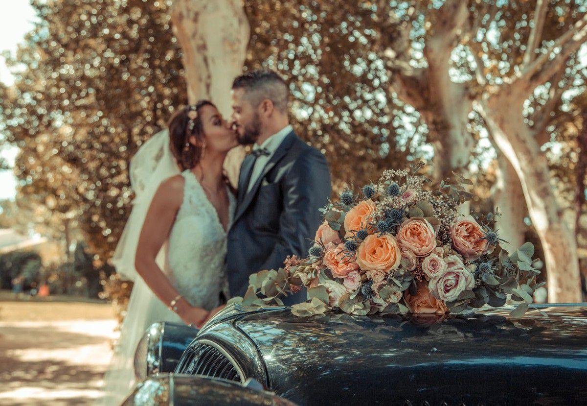 Mariage rétro au Domaine de l'Argentière