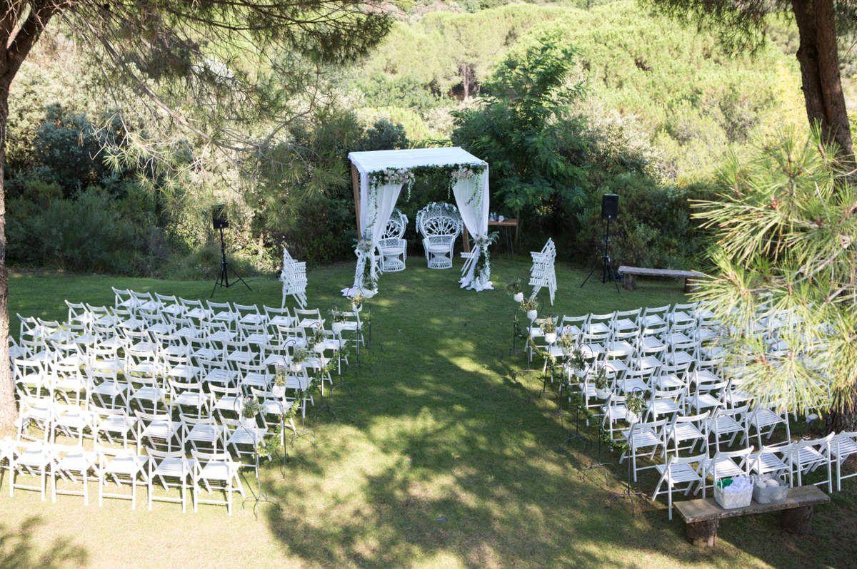 Mariage romantique au Domaine Sainte Colombe