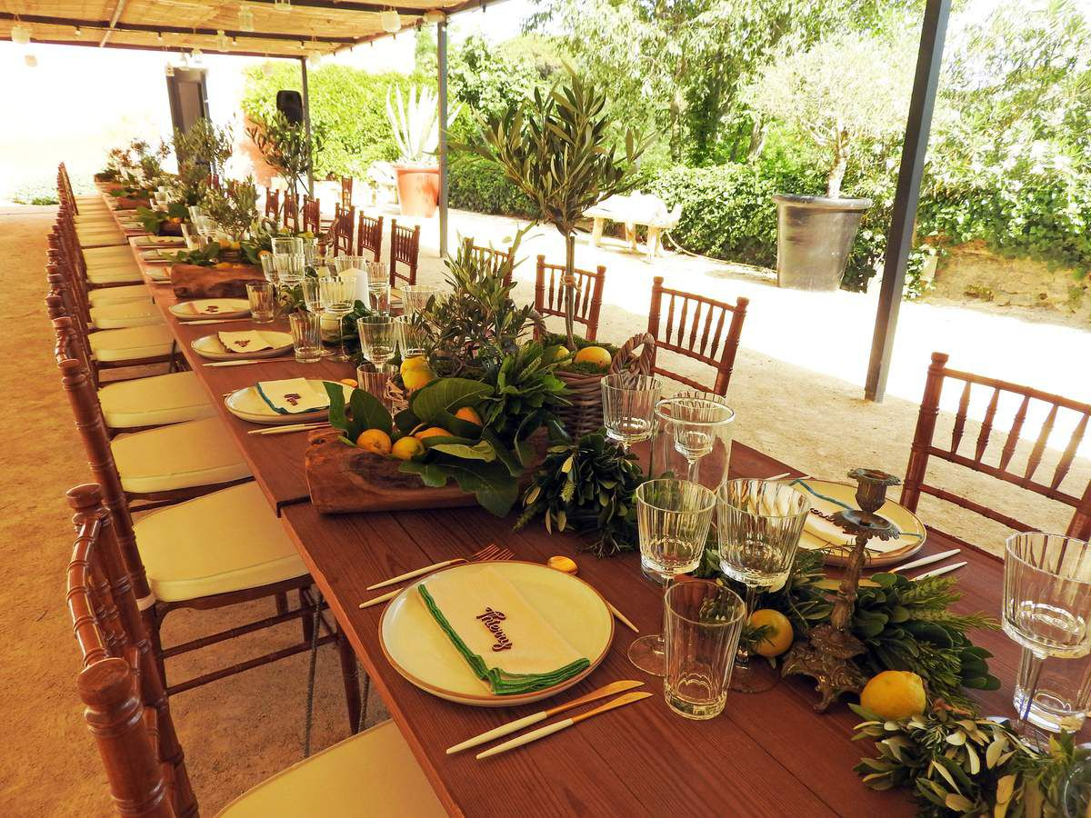 Bar Mitzvah Provence Chic au Domaine Ste Colombe - PART 1