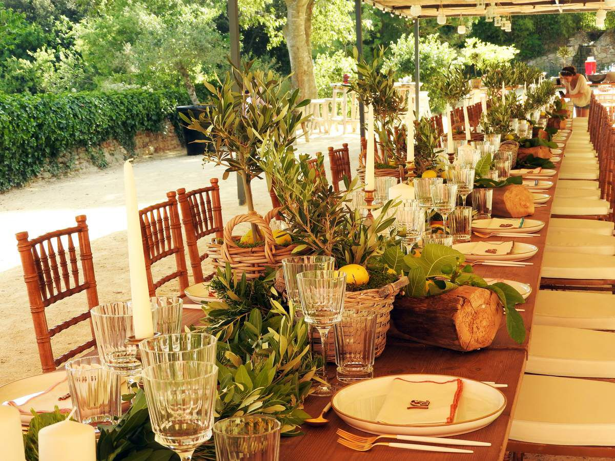 Bar Mitzvah Provence Chic au Domaine Ste Colombe - PART 1