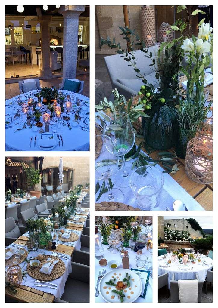 La Provençale Bio :  corporate au Vieux Castillon - event design