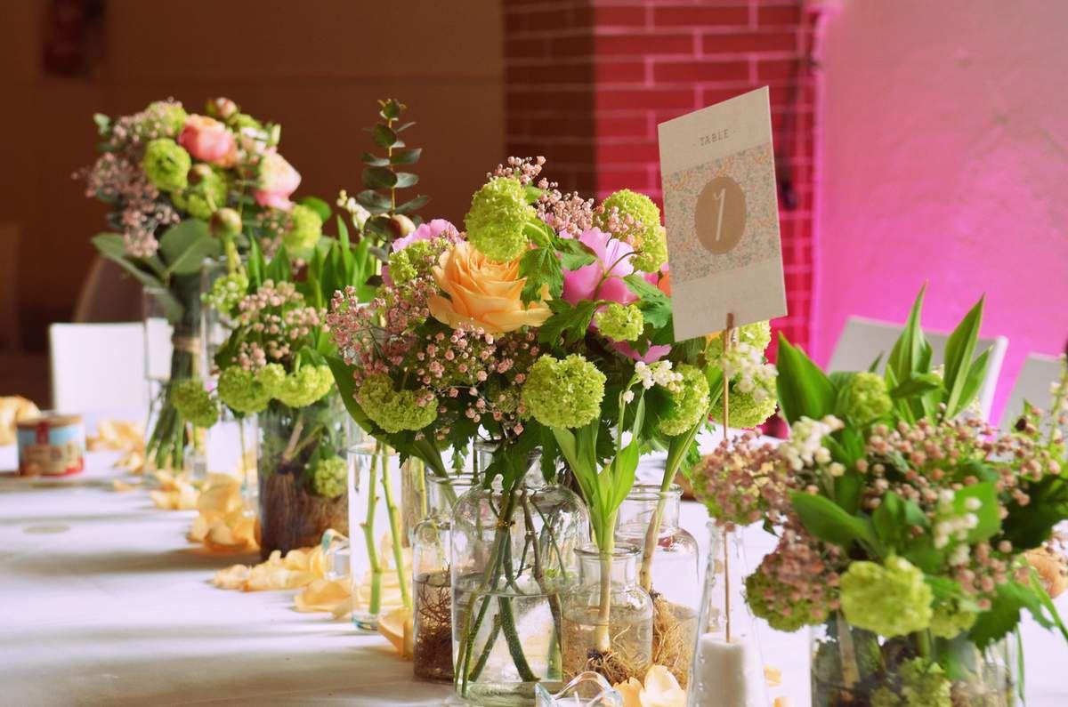 Mariage Shabby Chic au Château La Banquière - Fleurs Montpellier