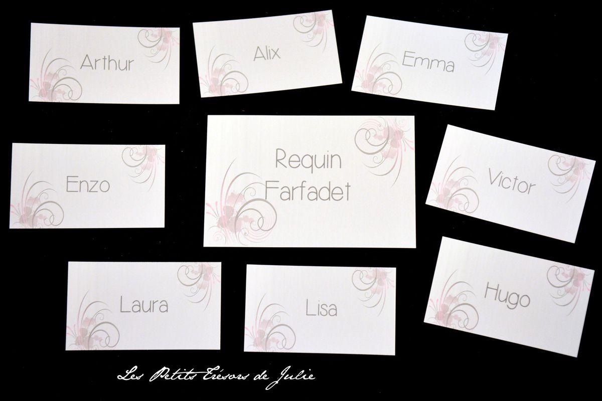 Fabuleux Fabuleux Nom De Table Mariage Chic Et Glamour NC13 | Montrealeast CN54