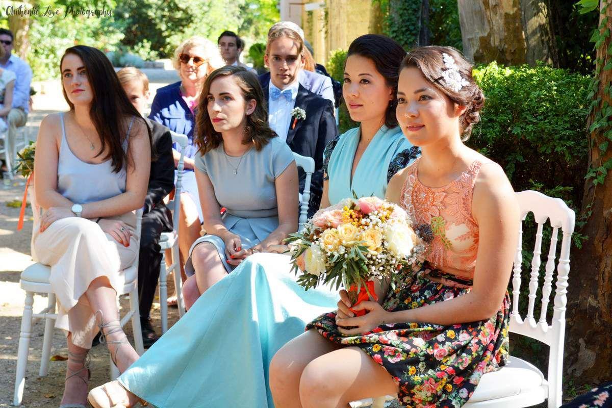 Australian & vintage wedding at Château de Roquelune