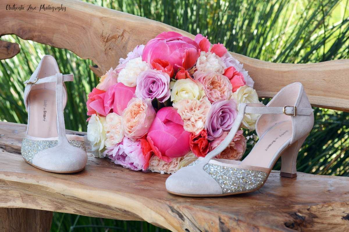 Le bouquet de mariée peps d'Ophélie