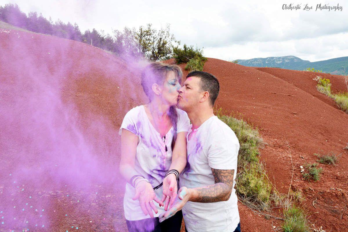 Love Session au Lac du Salagou | Rock'n'Bohème & so colorful