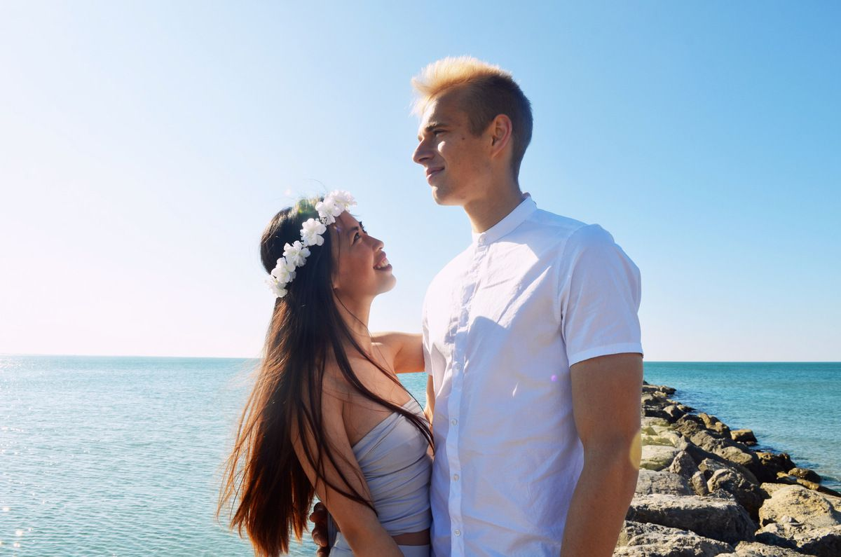 Chi + Lukas | Séance Engagement Montpellier