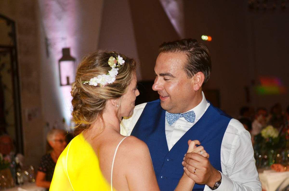 Merci à Maxime pour cette belle photo prise sur le vif lors du lancer de bouquet rubans