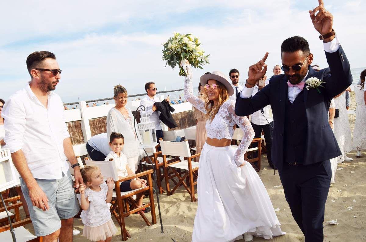 Mariage Rock'n Love sur la plage - Bonbon Rock Bohème