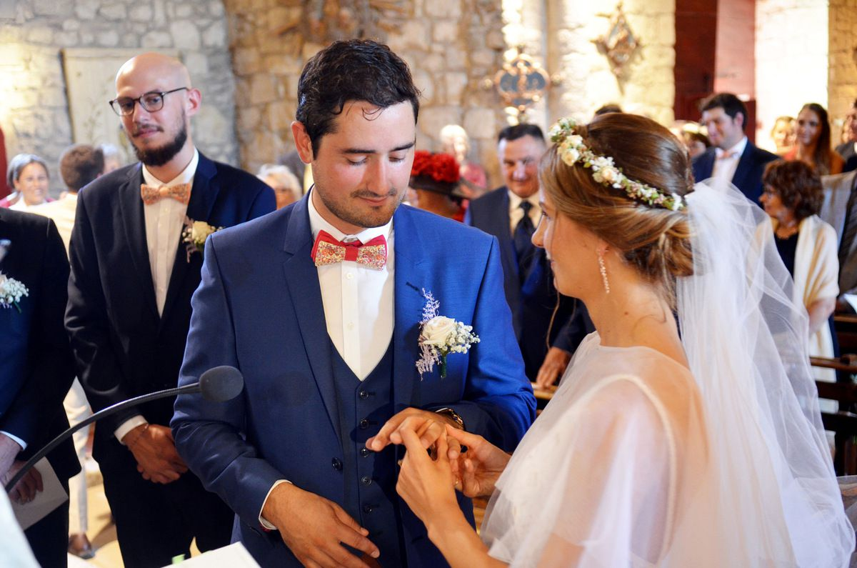 Mariage bohème dans une grange du Sud de la France