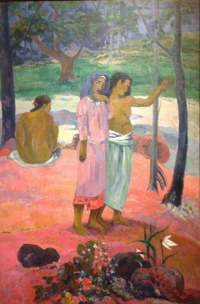 L'appel, Paul Gauguin, Cleveland Museum of Art
