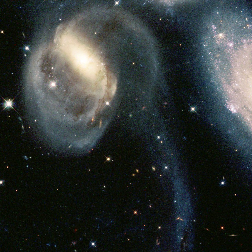 An inspiring Hubble mosaic of Stephan's Quintet