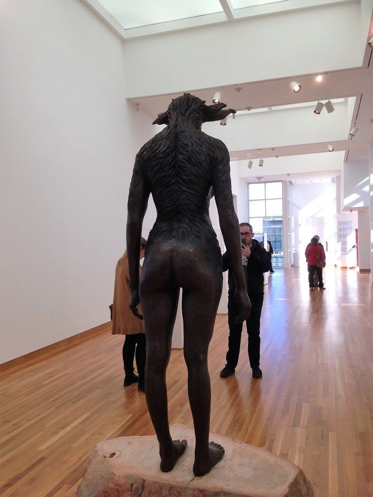 Nandipha Mntambo, Minotaure 2015, High Museum of Arts, Atlanta (Georgia)