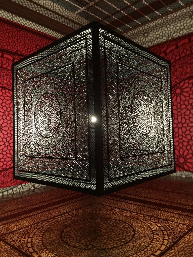 Anila Quayyum Agha: Between Light and Shadow (exposition temporaire jusqu'au 9 février 2020)