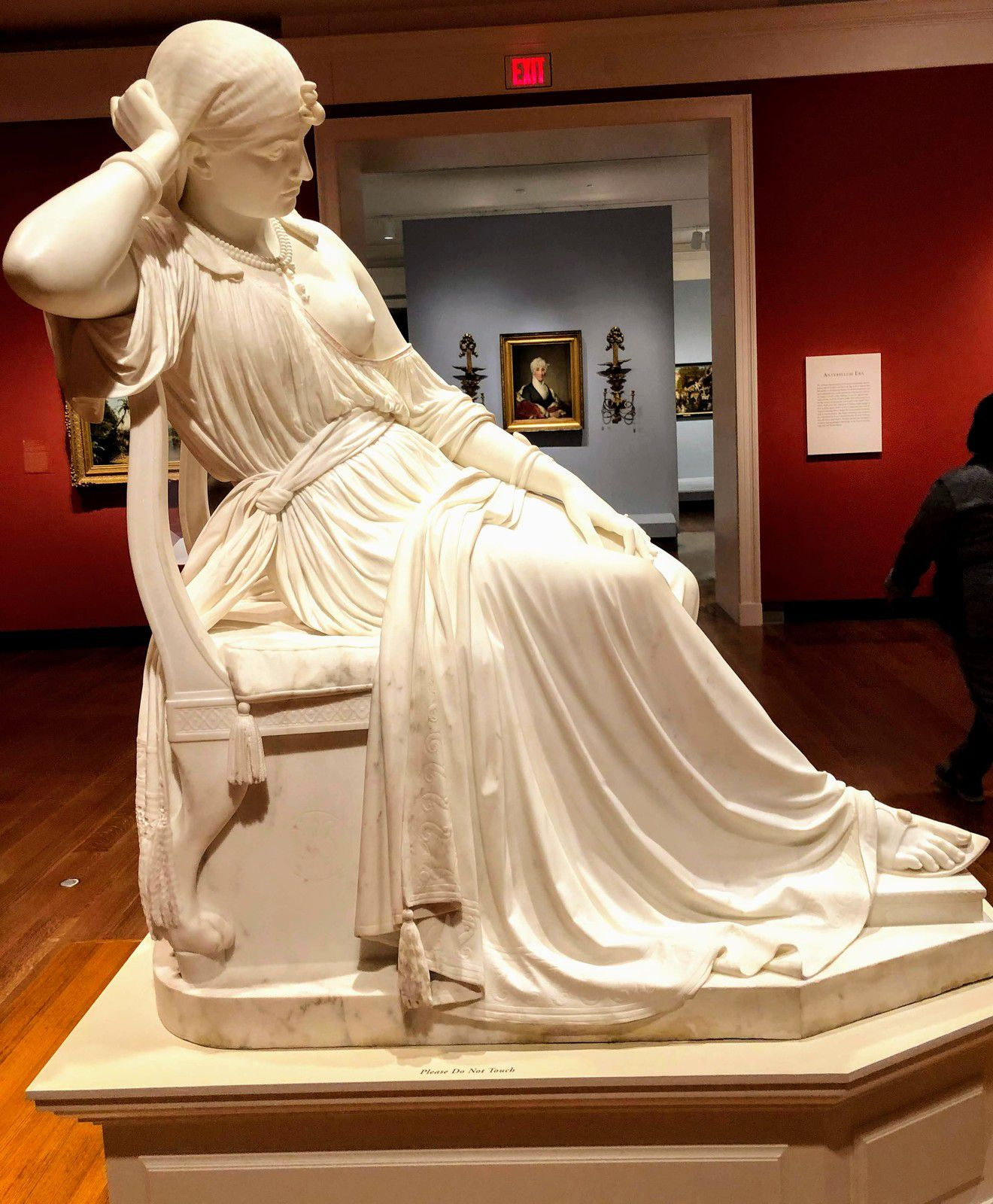 Cleopatra, William Wetmore Story, Marbre, 1865