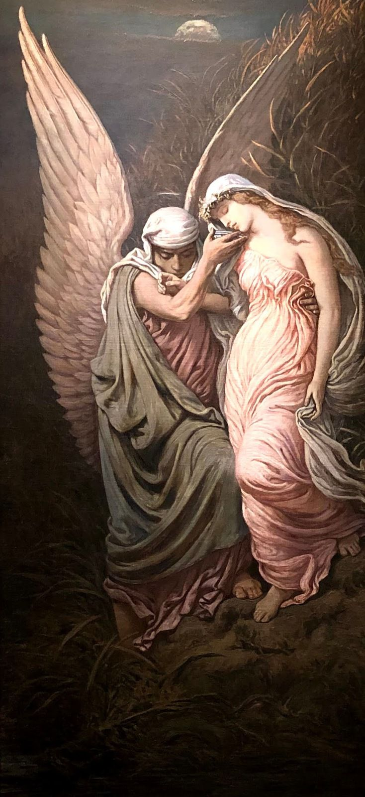 The Cup of Death, Elihu Vedder, 1885