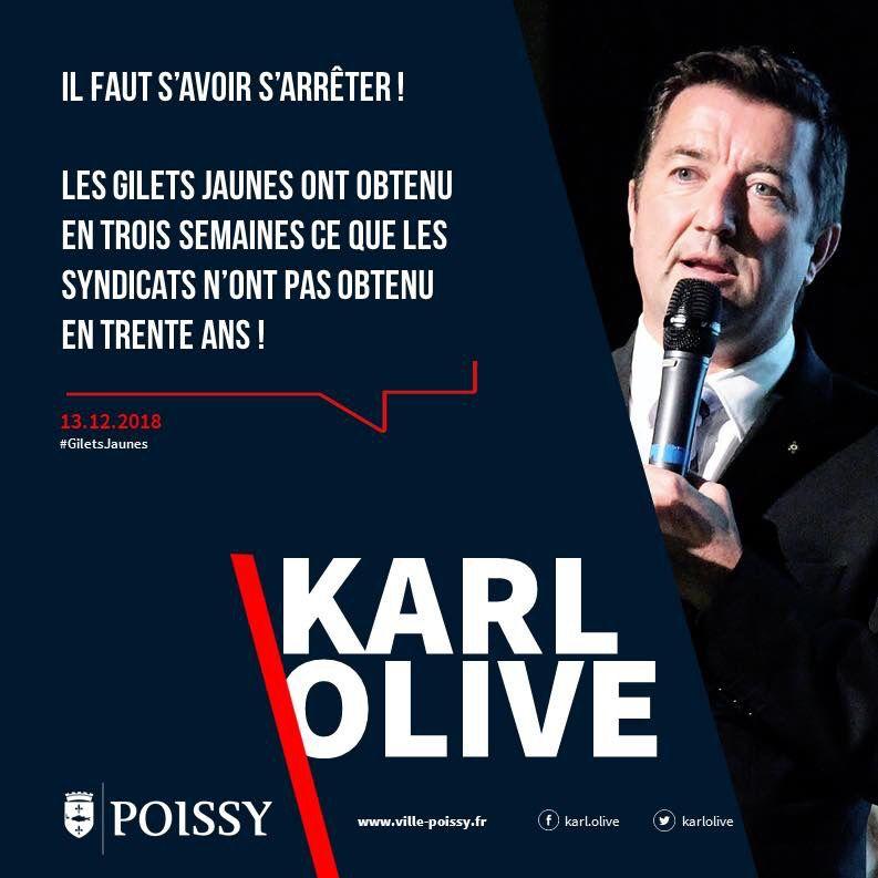 Karl OLIVE, bientôt nommé Ministre des sports
