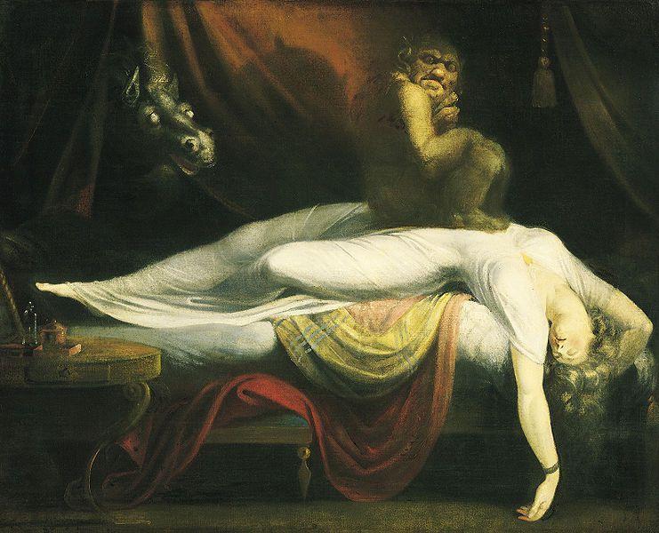 """Résultat de recherche d'images pour """"paralysie du sommeil hallucination tactile"""""""