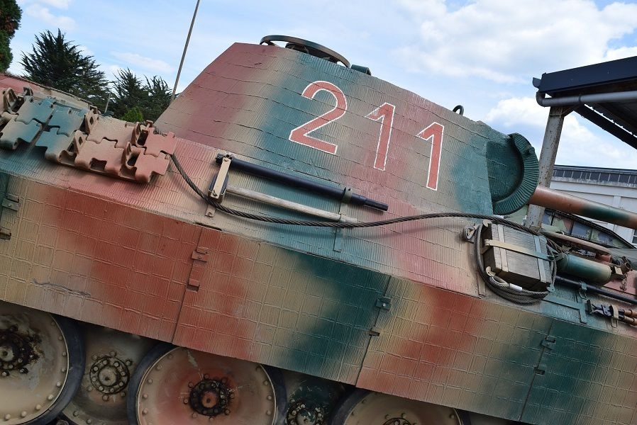 SAUMUR 2017 - Pzkpfw V PANTHER  AUSF A N° -  211 -