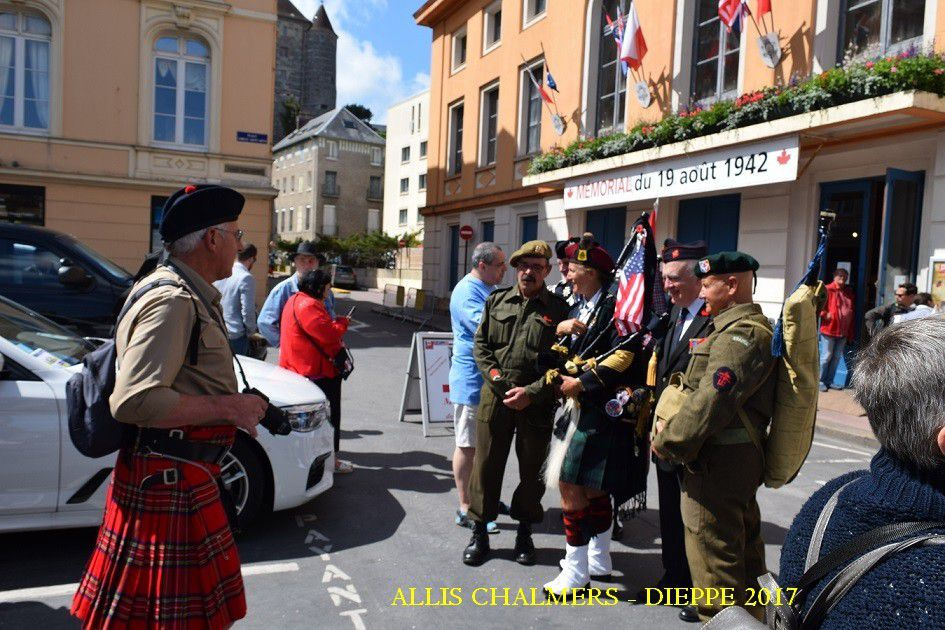 COMMEMORATION OPERATION JUBILEE 1942 - DIEPPE 2017