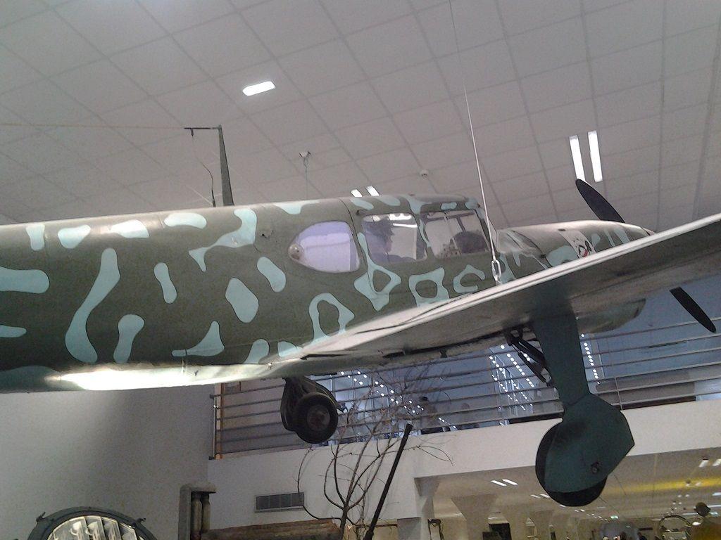 MUSEE sur la SECONDE GUERRE MONDIALE a LA WANTZENAU - Les avions -