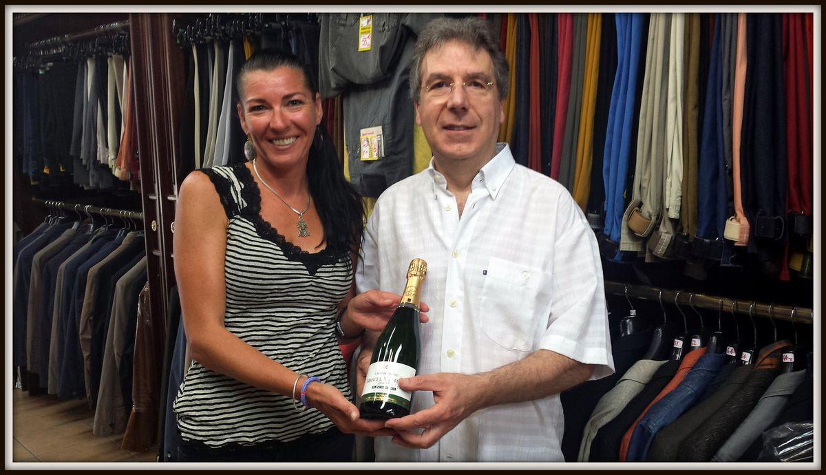 Mr SPIGA Jean-Paul de Beaucaire, un des heureux gagnants de notre tombola !