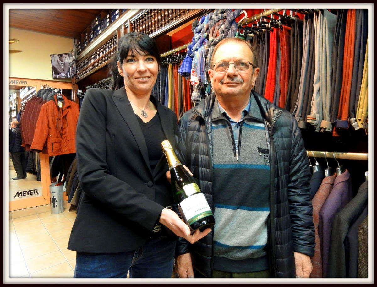 Champagne de l'opération fidélité pour Mr CHAVAGNAS Joachim !