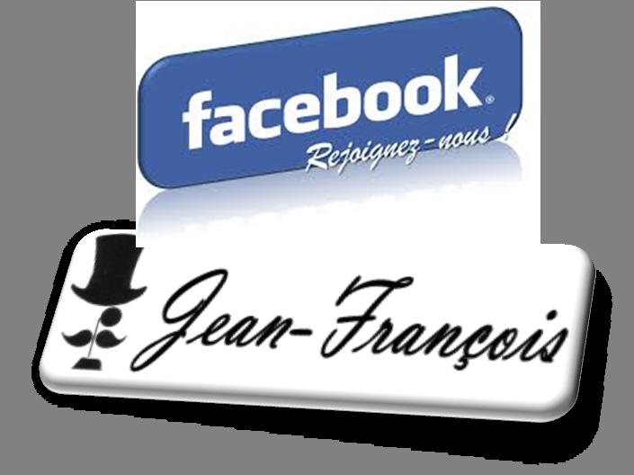 Suivez notre page officielle facebook : Jean-François Harold's